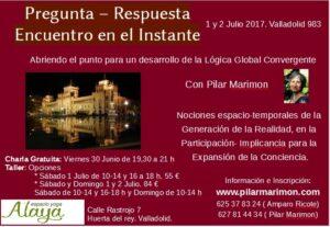 Charla, Taller y Sesiones en Valladolid