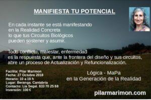 MANIFIESTA TU POTENCIAL- CANTABRIA
